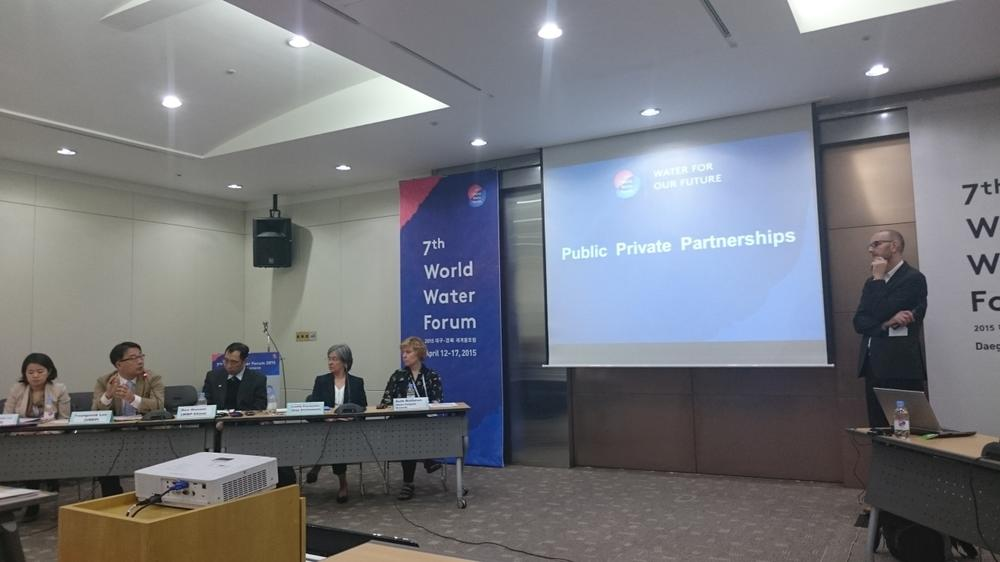 Session on Public-Private-Partnerships.