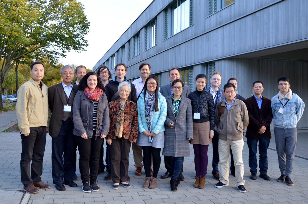"Participants of the workshop ""Rethinking 1950s China"""