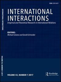 Cover: International Interactions