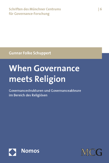 When Governance Meets Religion - Cover