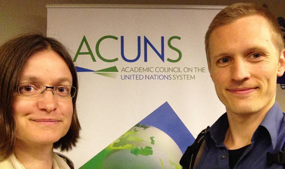 The team of project D1 at the ACUNS
