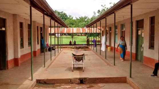 Wing of the district hospital in Masasi, Tanzania