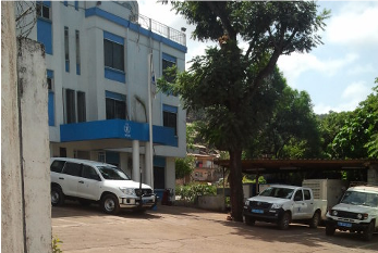 The WFP office building in Freetown