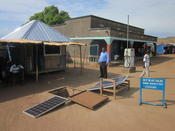 Income generation through solar energy, Northwestern Uganda