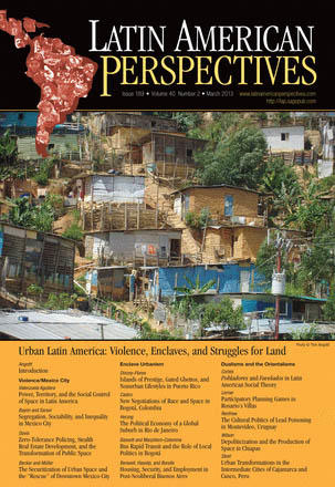 Cover: Latin American Perspectives