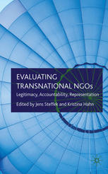 Cover: Evaluating Transnational NGOs. Legitimacy, Accountability, Representation