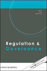 Cover: Regulation and Governance
