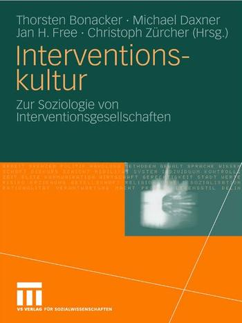Cover: Interventionskultur