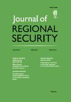 Cover: Journal of Regional Security