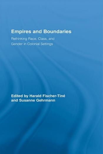 Cover: Empires and Boundaries