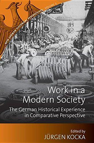 Cover: Work in a Modern Society
