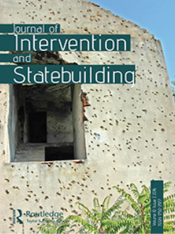 Cover: Journal of Intervention and Statebuilding 10 (2)