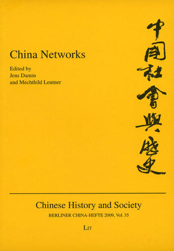 Cover: Berliner China-Hefte/Chinese History and Society, No. 35