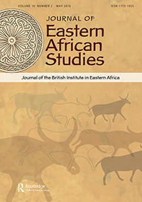 Cover: Journal of Eastern African Studies, 3 (1)