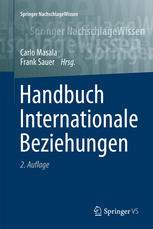 Cover: Handbuch Internationale Beziehungen