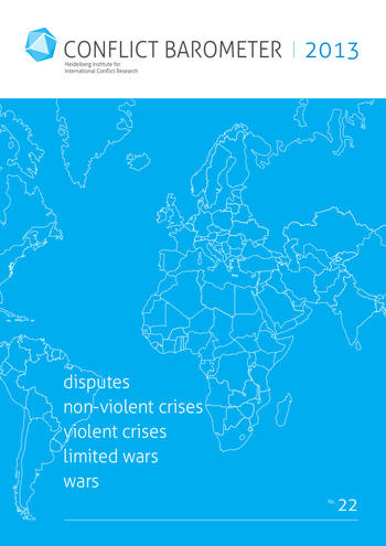 Cover: Conflict Barometer 2013