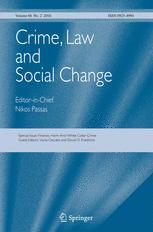 Cover: Crime, Law and Social Change. An Interdisciplinary Journal
