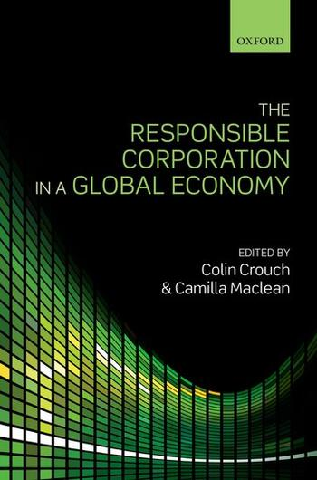Cover: The Responsible Corporation in a Global Economy