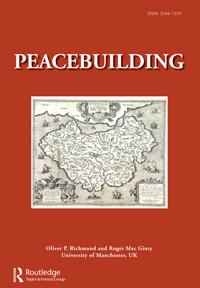Cover: Peacebuilding, 2 (2)