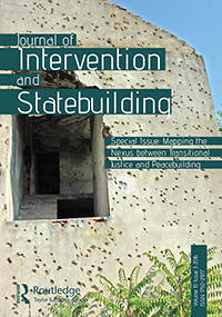 Cover: Journal of Intervention and Statebuilding, 6 (1)
