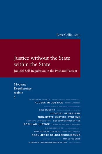 Cover: Justice without the State