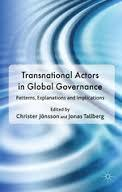 Cover: Transnational Actors in Global Governance. Patterns, Explanations and Implications
