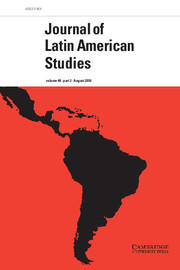 Cover: Journal of Latin American Studies