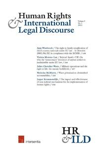 Cover: Human Rights & International Legal Discourse