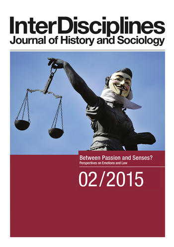 Cover: InterDisciplines. Journal of History and Sociology 6 (2)