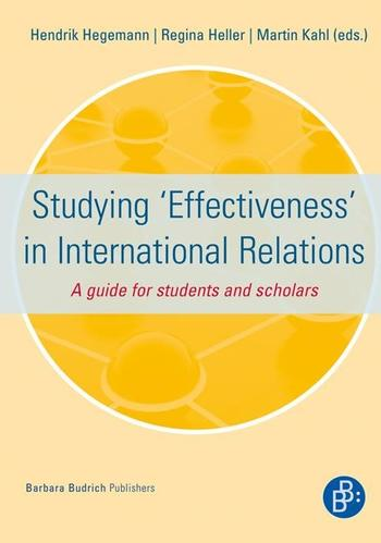 Cover: Studying 'Effectiveness' in International Relations