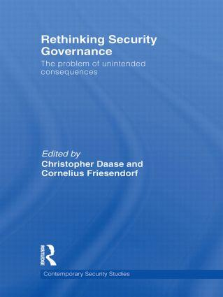 Cover: Rethinking Security Governance