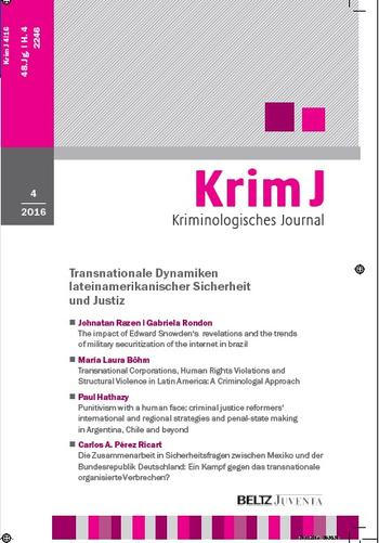 Publication directory collaborative research center sfb 700 cover kriminologisches journal spiritdancerdesigns Gallery