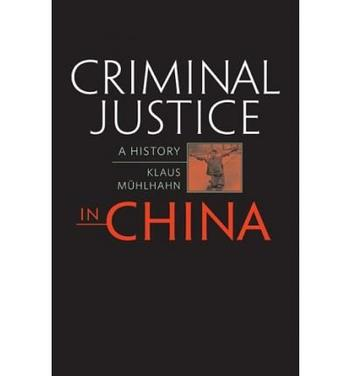 Cover: Criminal Justice in China