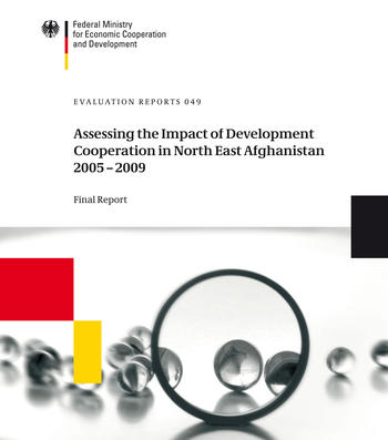 Cover Federal Ministry for Economic Cooperation and Development. Evaluation Reports 049