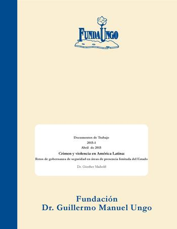 Cover: Fundago. Documentos de trabajo