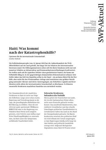 Cover: SWP-Aktuell