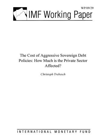 Cover: IMF Working Paper, No. 29