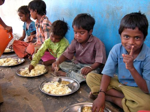 Fortified midday school meal in rural Rajasthan (GAIN and Naandi)